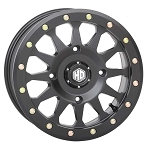 STI HD A1 Beadlock Wheels, 14 inch Matte Black
