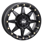 STI HD5 Beadlock Wheels, 15 inch Matte Black