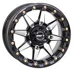 STI HD5 Beadlock Wheels, 15 inch Glossy Black Machined