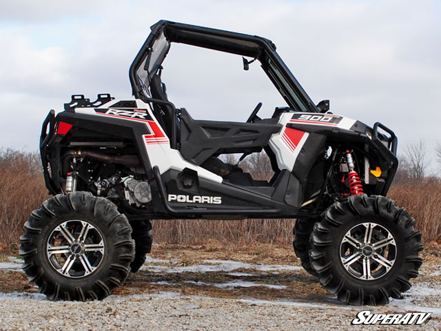 7 10 inch lift kit for polaris rzr 900 by super atv. Black Bedroom Furniture Sets. Home Design Ideas
