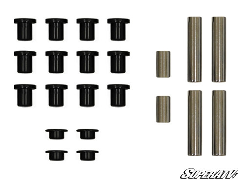 Super ATV HDPE Bushing Kit for Super ATV//OE A-Arms Kawasaki Teryx