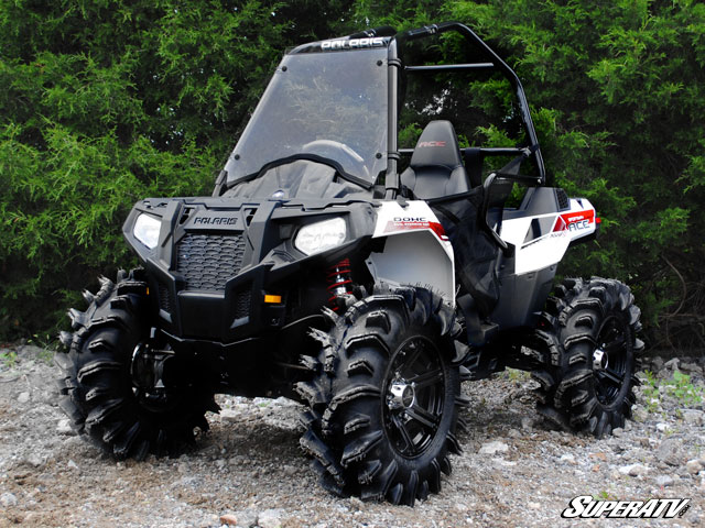 Full Windshield For The Polaris Sportsman Ace By Super Atv