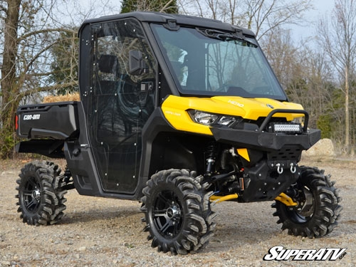 Super Atv Full Cab Enclosure Doors For Can Am Defender