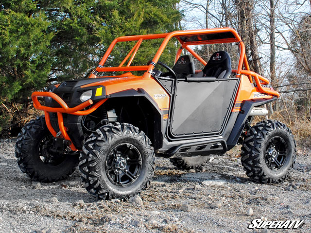 low profile doors for the polaris rzr. Black Bedroom Furniture Sets. Home Design Ideas