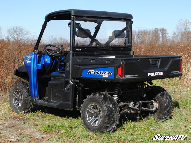 Rear Windshield for the Polaris Ranger XP 900 by Super ATV