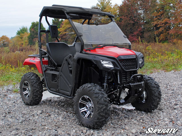 Full Scratch Resistant Windshield For The Honda Pioneer