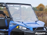 Super ATV Scratch Resistant Full Windshield for Polaris Ranger XP 900