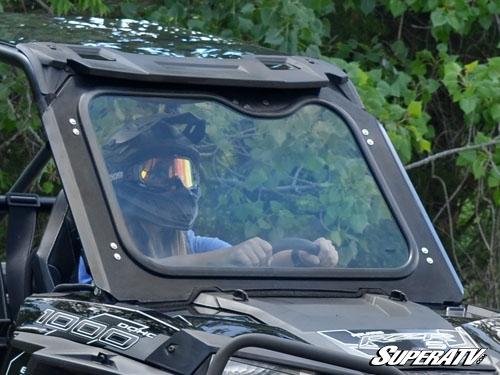 super atv polaris rzr 900 rzr xp 1000 dot approved glass windshield - Windshield Glass