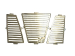 Super ATV Stainless Steel Grille Covers for Yamaha Rhino