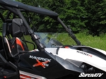 Super ATV Half Windshield for Can-Am Maverick
