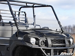 Super ATV Scratch Resistant Half Windshield for Kawasaki Mule Pro FXT