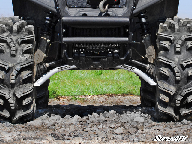 Super ATV Black High Clearance Forward A-Arms for Polaris Sportsman