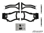 Super ATV High Clearance Rear Offset A-Arms for RZR S & RZR 4 800