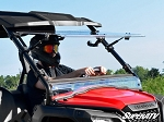 Super ATV Scratch Resistant Flip Windshield for Honda Pioneer 500