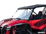 Super ATV Scratch Resistant Full Windshield for Honda Talon