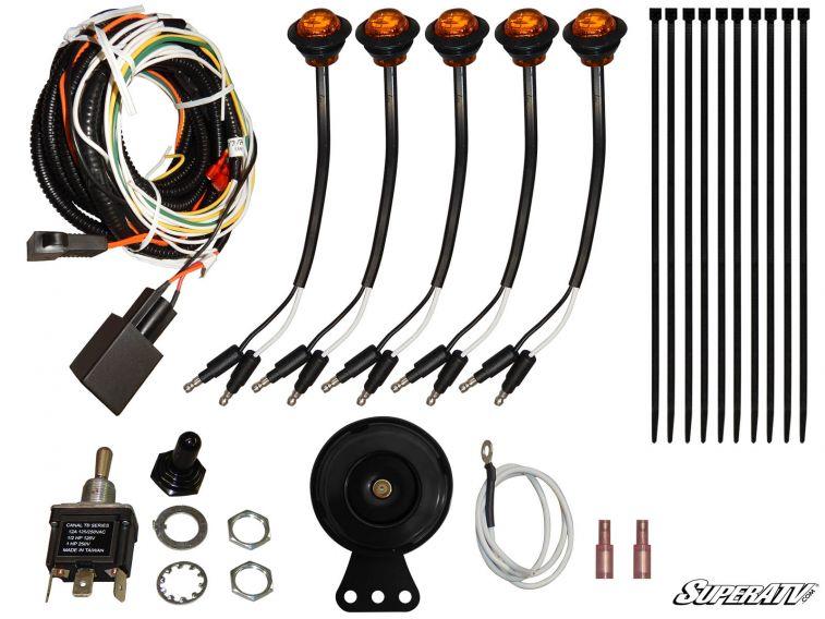 Super ATV Plug & Play Turn Signal Kit for Kawasaki Mule PRO-FXT