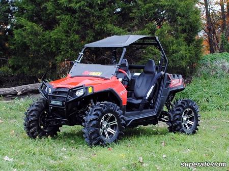 Lift Kit Brands >> 5 Inch Long Travel Kit for the Polaris RZR 570 by Super ATV
