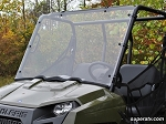 Super ATV Full Windshield for Polaris Ranger Midsize