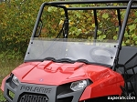 Super ATV Half Windshield for Polaris Ranger Midsize