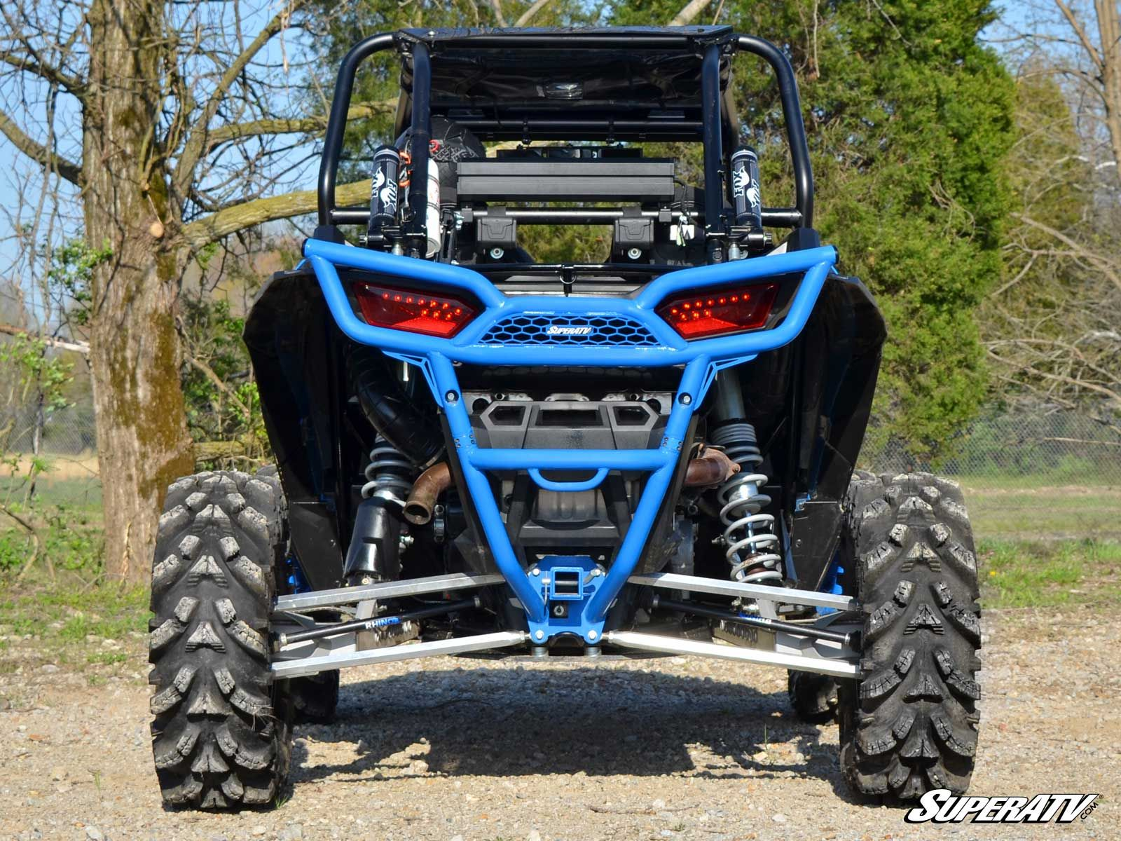 Super ATV Rear Bumper for Polaris RZR XP 1000 / XP Turbo