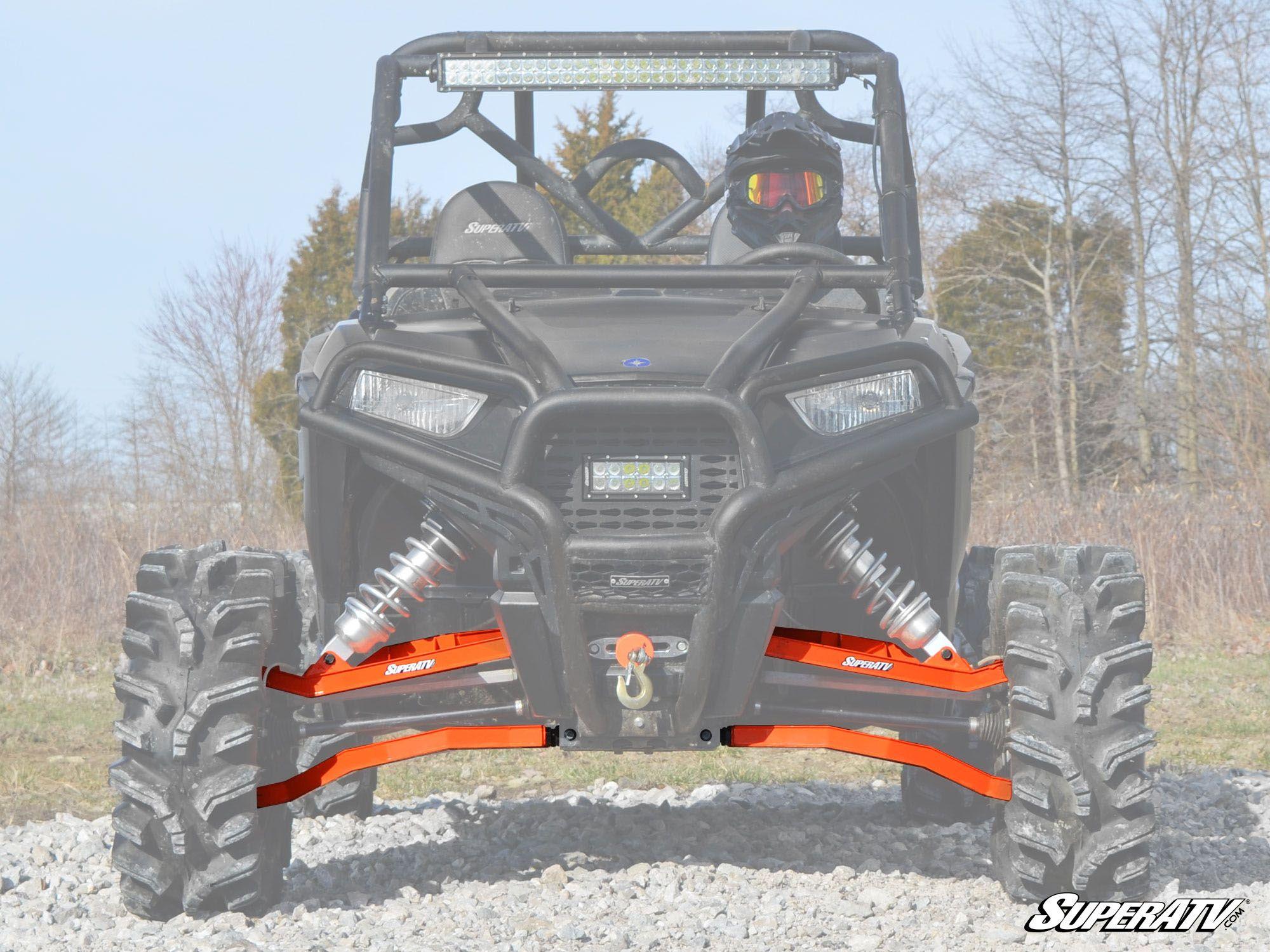 Super ATV 3 inch Long Travel Kit for Polaris RZR S 900 / S 1000