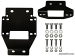 Super ATV Winch Mounting Plate for 3500 lb. Winches for Polaris RZR XP 900