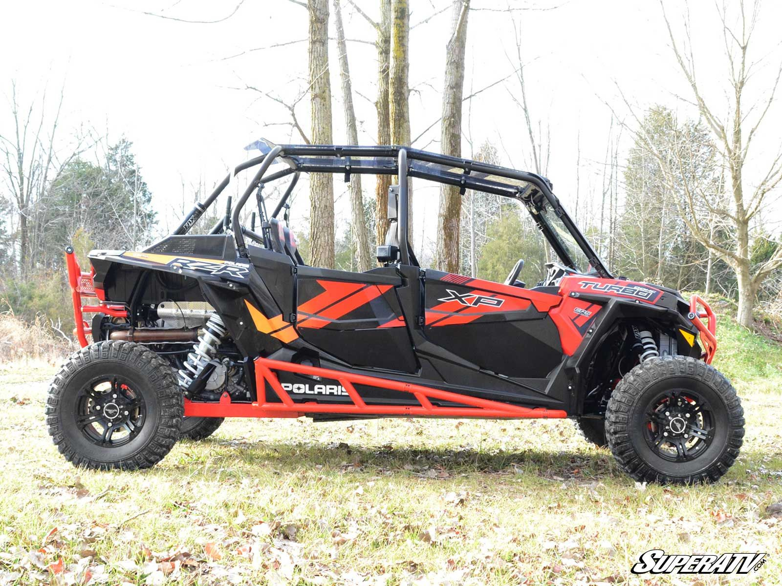 super atv nerf bars for the polaris rzr xp 4 1000 rzr 4. Black Bedroom Furniture Sets. Home Design Ideas