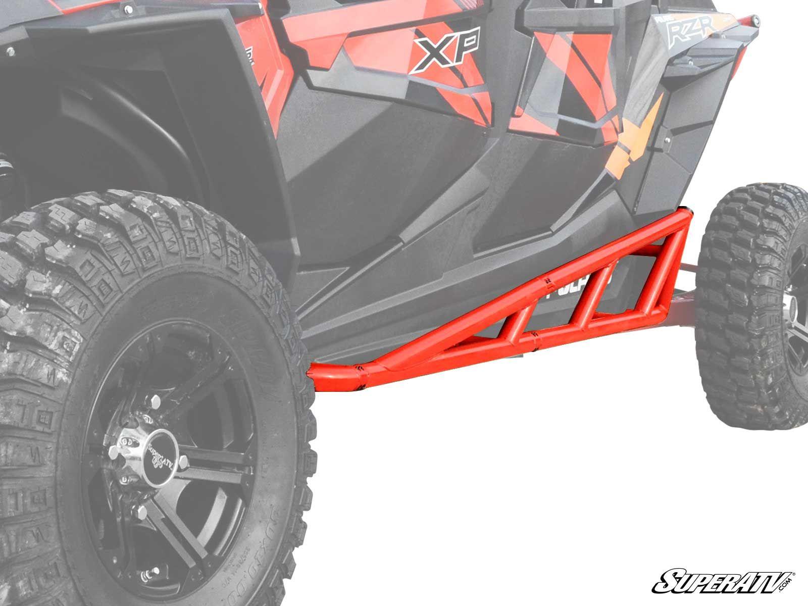 Super Atv Nerf Bars For The Polaris Rzr Xp 4 1000 Rzr 4 900 Xp 4 Turbo