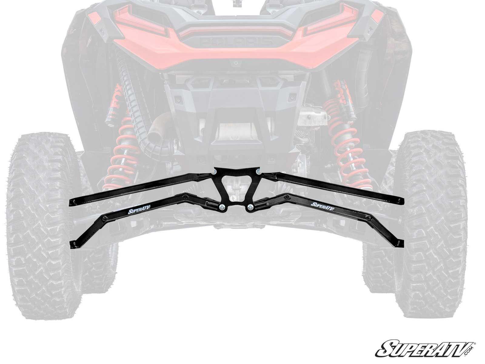 Super ATV High Clearance Boxed Radius Arms for Polaris RZR XP Turbo S