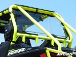 Super ATV  Scratch Resistant Rear Windshield for Polaris RZR 900