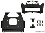 Super ATV Winch Mounting Plate for Polaris RZR 1000, RZR 4 1000