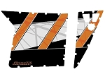 Super ATV RZR 570 EPS Trail LE Door Graphic Kit