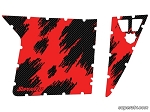 Super ATV Shredded Red Door Graphic Kit