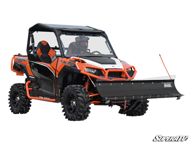 Super Atv Plow Pro Snow Plow For Polaris General 1000