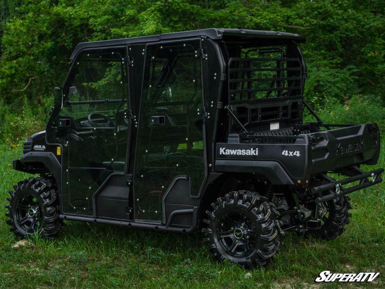 Super Atv Cab Enclosure Doors For Kawasaki Mule Fx Fxt 4 Door Models