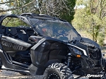 Super ATV Scratch Resistant Full Windshield for Can-Am Maverick X3