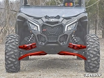 Super ATV High Clearance Front A-Arms with Uniball for Can-Am Maverick X3