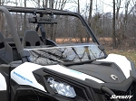 Super ATV Scratch Resistant Half Windshield for Can-Am Maverick Trail / Sport