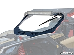 Super ATV Vented Full Glass Windshield for Can-Am Maverick X3