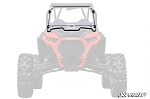 Super ATV Scratch Resistant Flip Down Windshield for Polaris XP Turbo S