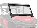 Super ATV Vented Full Glass Windshield for Honda Pioneer 1000 Models