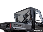 Super ATV Rear Windshield for Honda Pioneer 1000