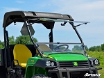 Super ATV Scratch Resistant Flip Windshield for John Deere Gator