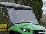Super ATV Scratch Resistant Full Windshield for John Deere Gator XUV