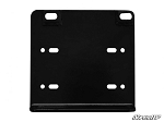 Super ATV Winch Mounting Plate for 3500 lb Winches for John Deere Gator XUV