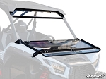 Super ATV Scratch Resistant Flip Down Windshield for Kawasaki Teryx KRX 1000