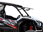 Super ATV Scratch Resistant Flip Windshield for Kawasaki Teryx KRX 1000