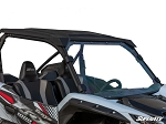 Super ATV Scratch Resistant Full Windshield for Kawasaki Teryx KRX 1000