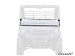 Super ATV Scratch Resistant Flip Down Windshield for Kawasaki Mule Pro