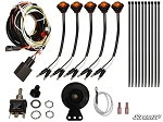Super ATV Plug & Play Turn Signal Kit for Kawasaki Mule PRO-FXT
